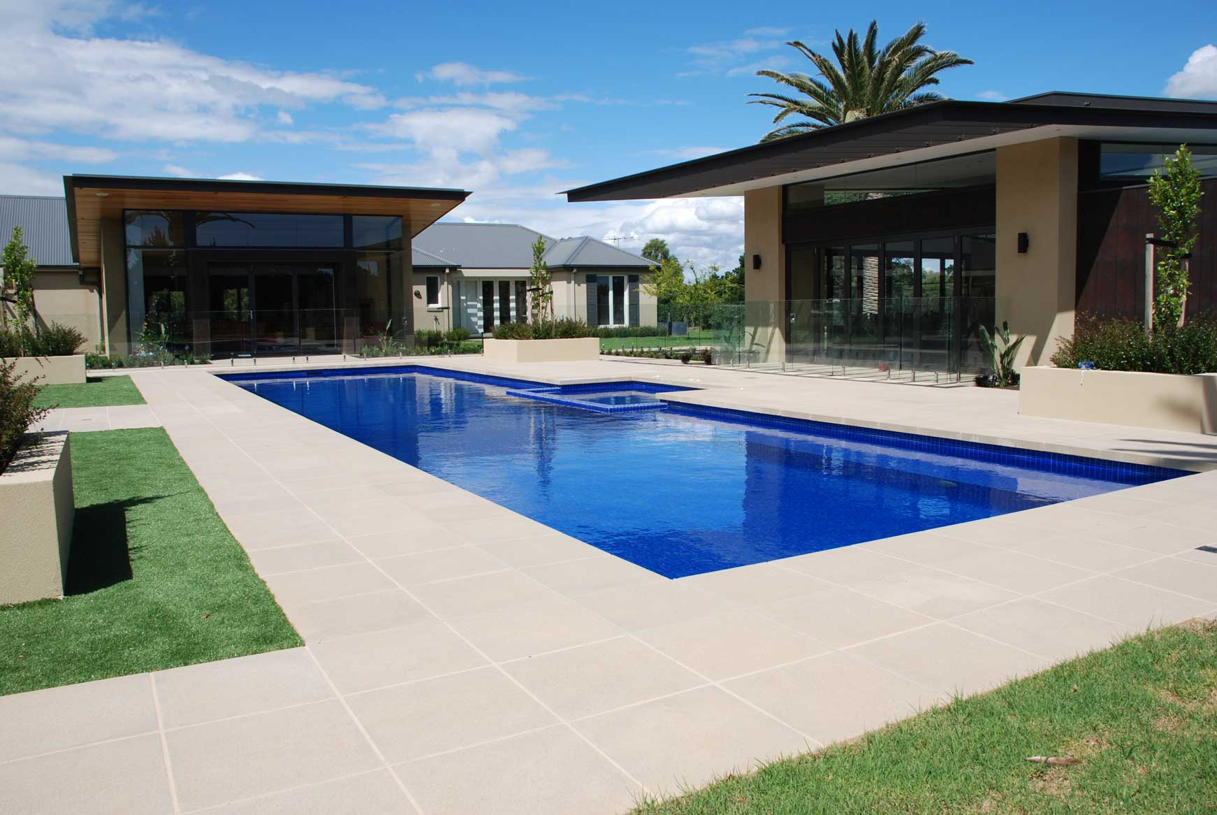 Custom landscaping for Landscape design for pool areas